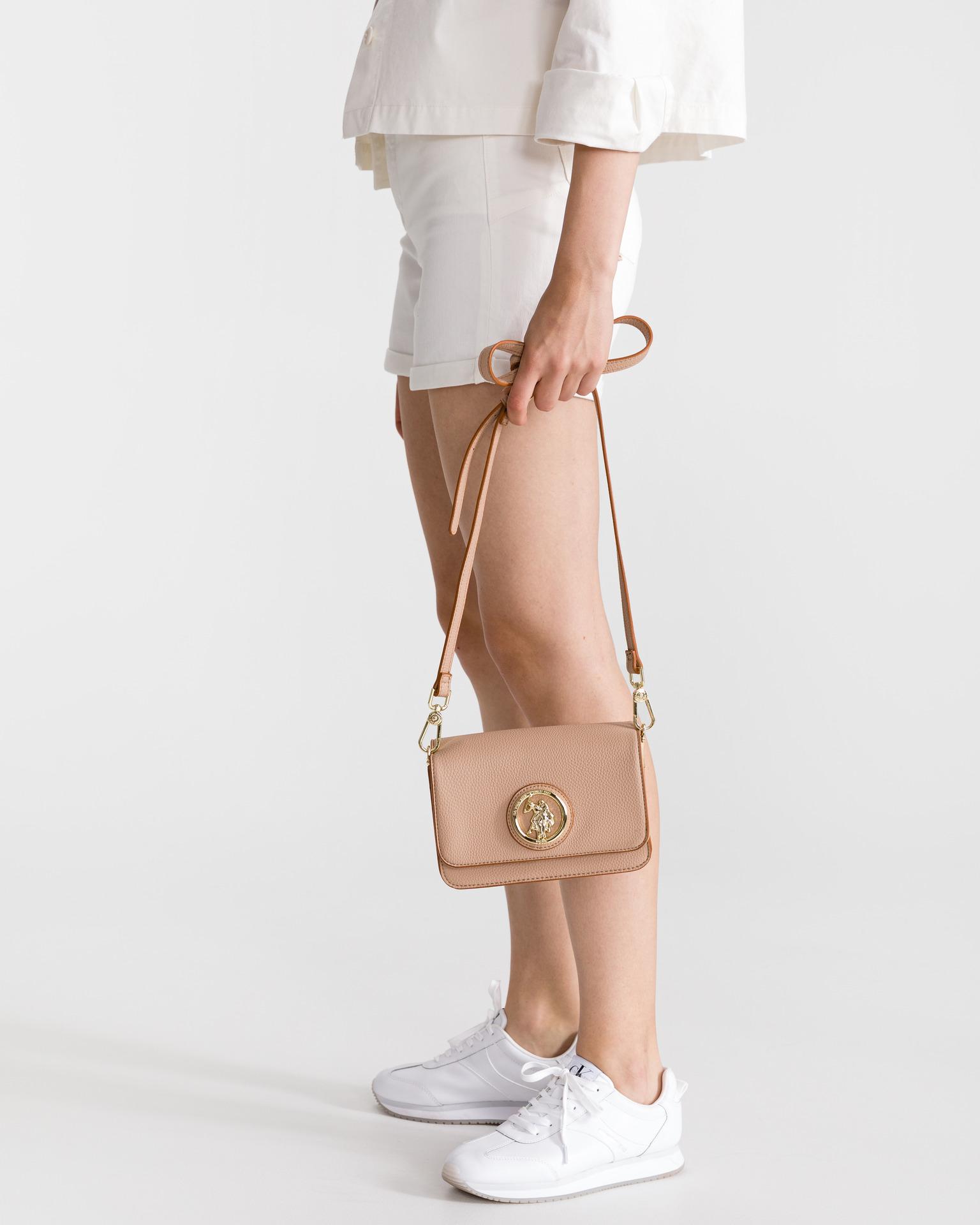 U.S. Polo Assn. Borsetta donna marrone  U.S.