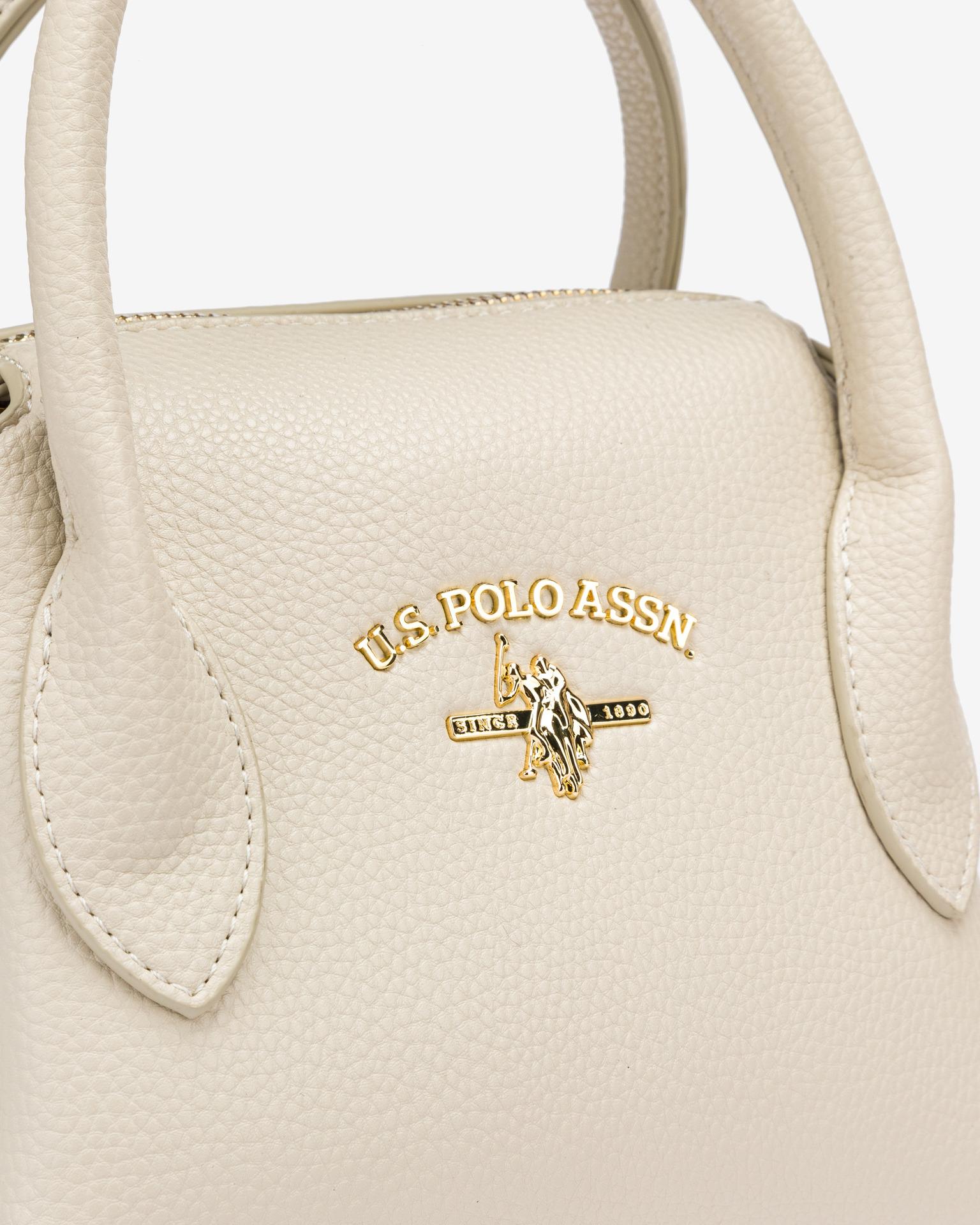 U.S. Polo Assn. Borsetta donna bianco  S
