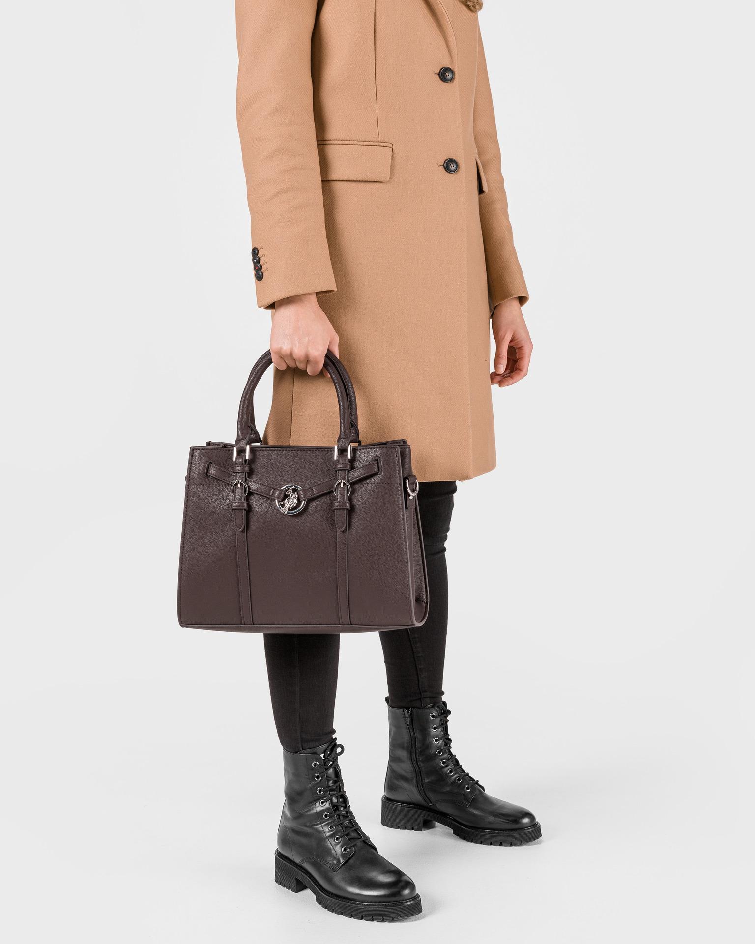 U.S. Polo Assn. Borsetta donna marrone  Kabelka