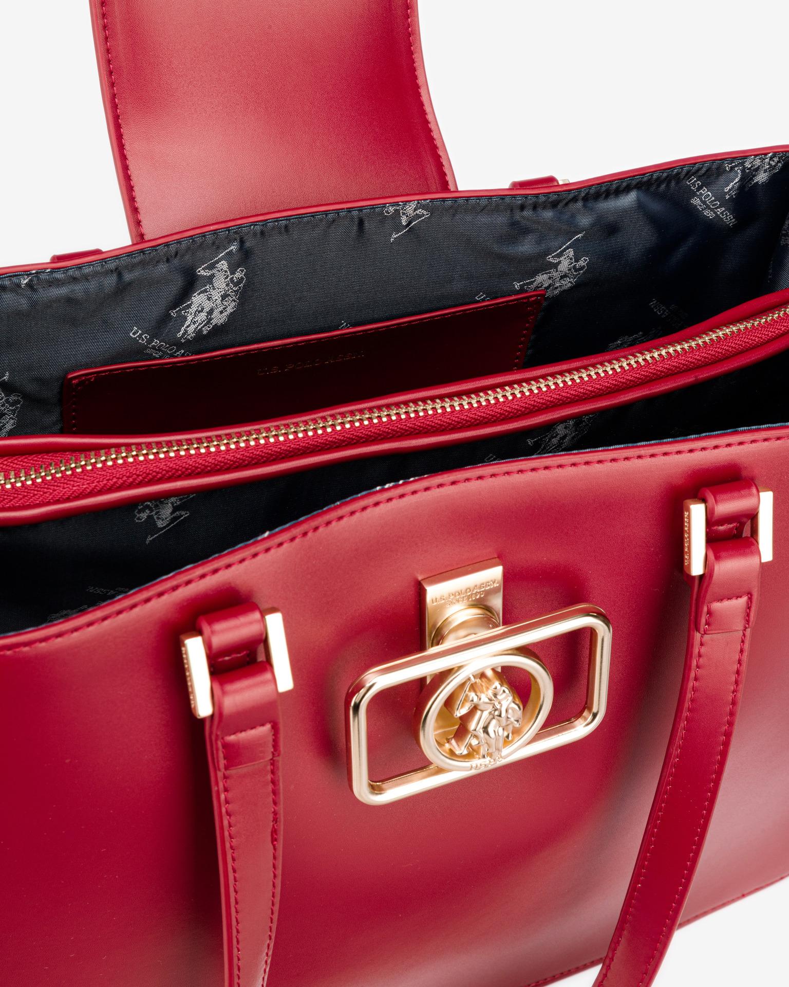 U.S. Polo Assn. Borsetta donna rosso  Shopping