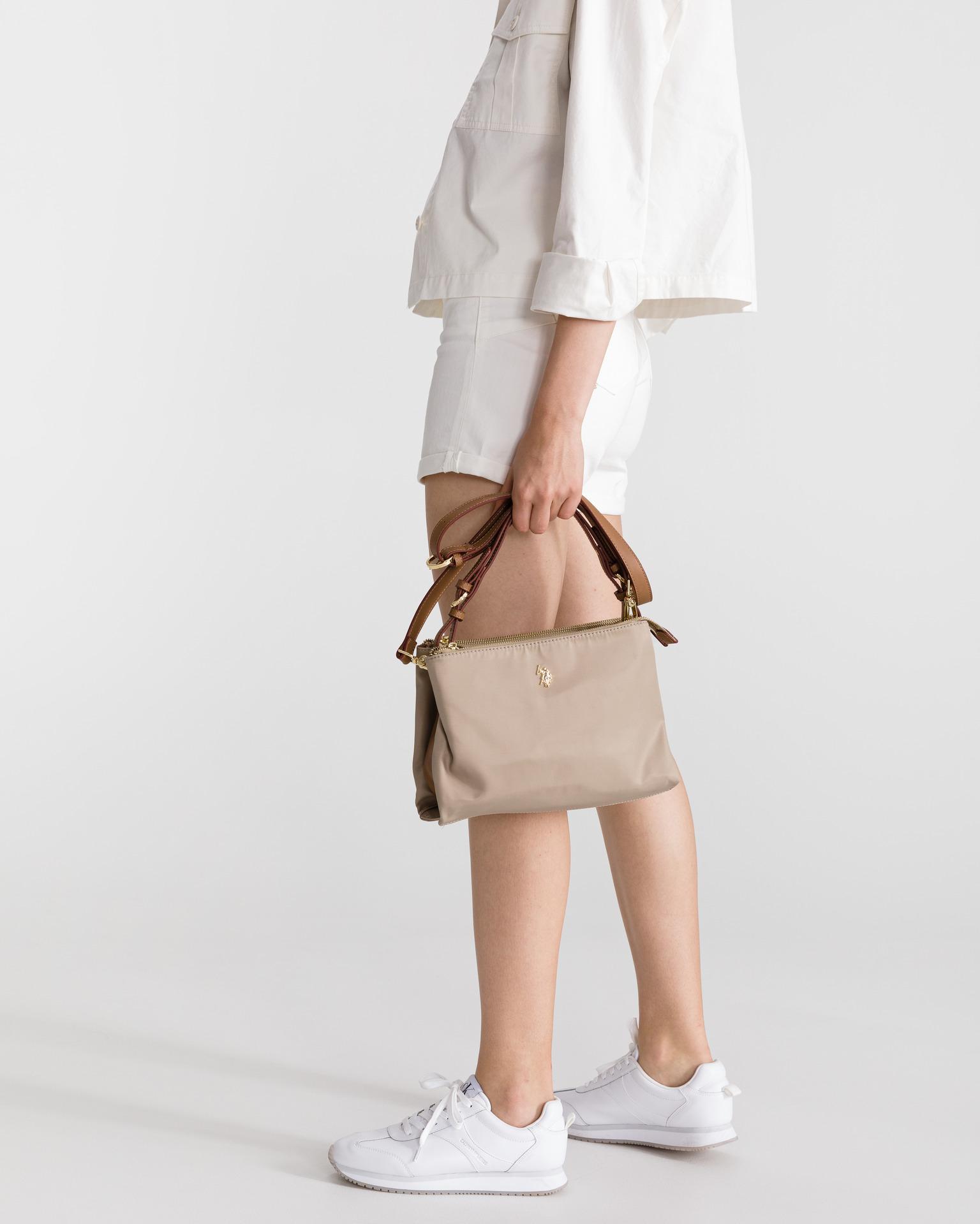 U.S. Polo Assn. Borsetta donna marrone  3