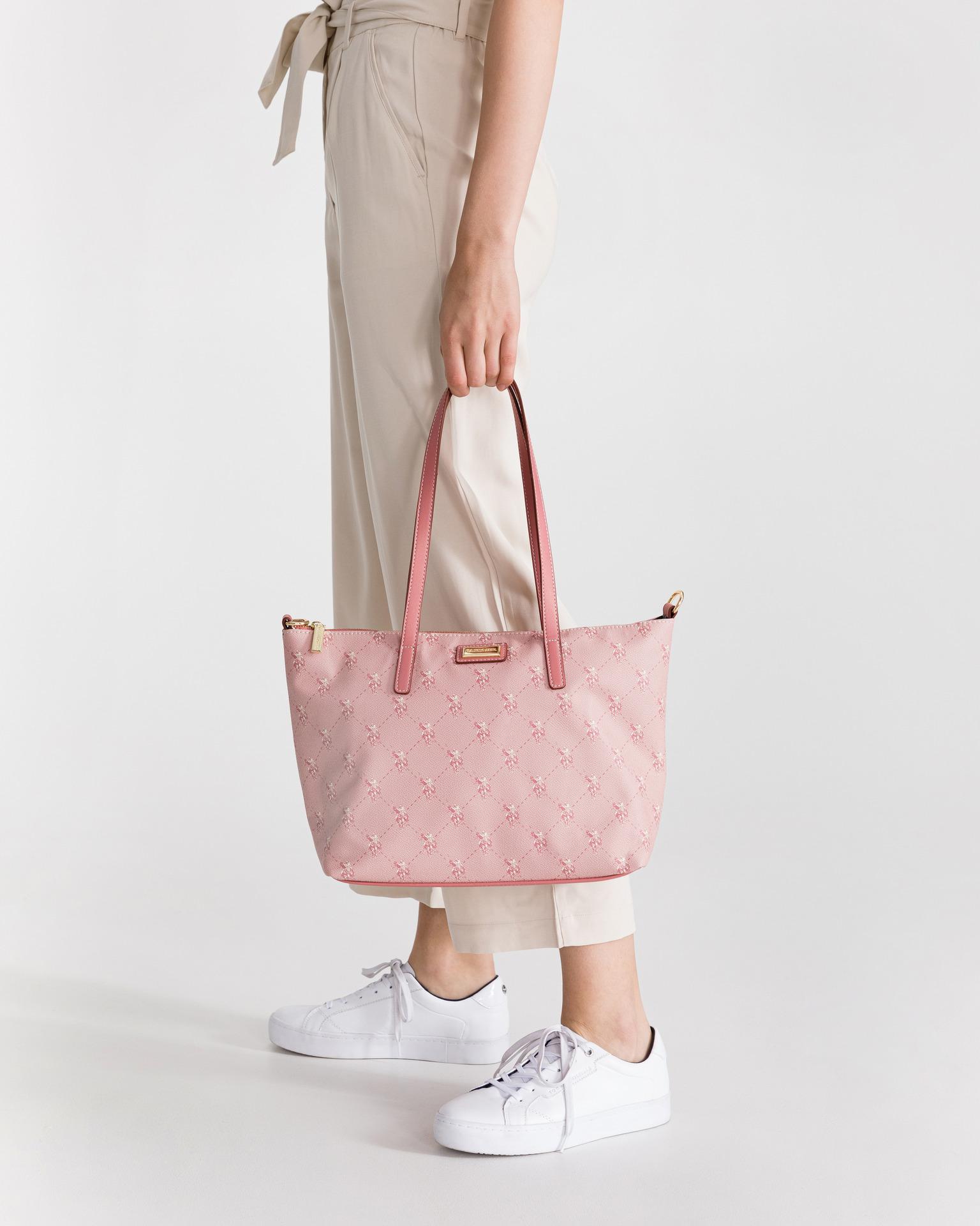 U.S. Polo Assn. Borsetta donna rosa  S
