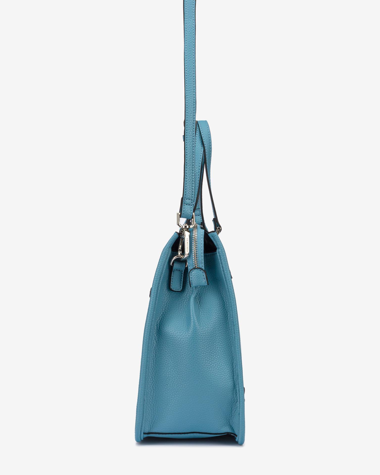 U.S. Polo Assn. Borsetta donna blu  Hailey