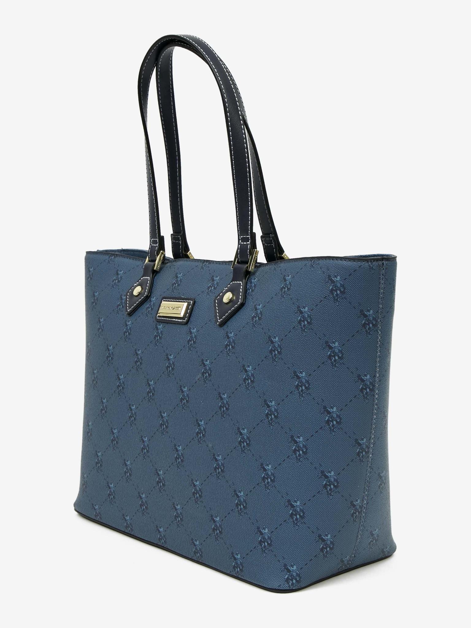 U.S. Polo Assn. Borsetta donna blu  L