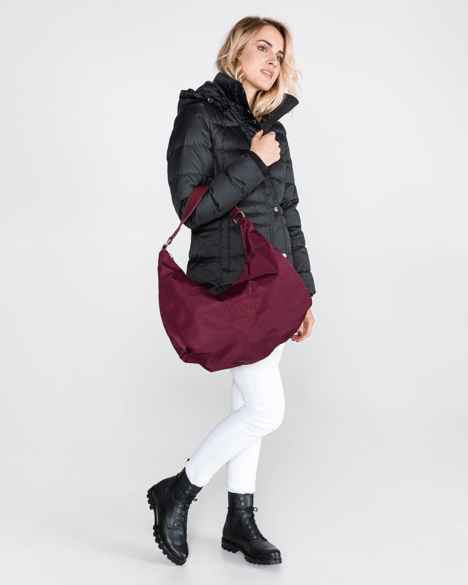 U.S. Polo Assn. Borsetta donna rosso  Large