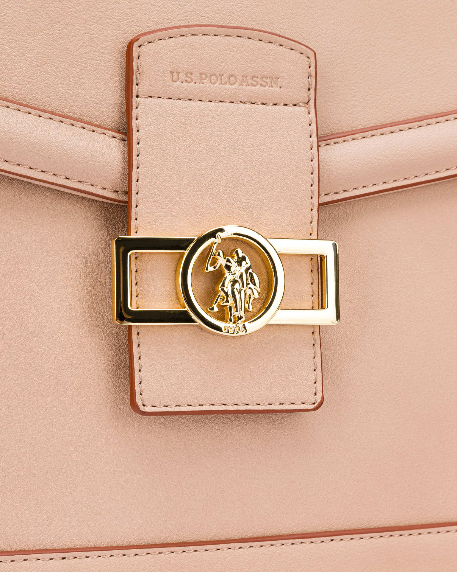 U.S. Polo Assn. Borsetta donna beige  Flap