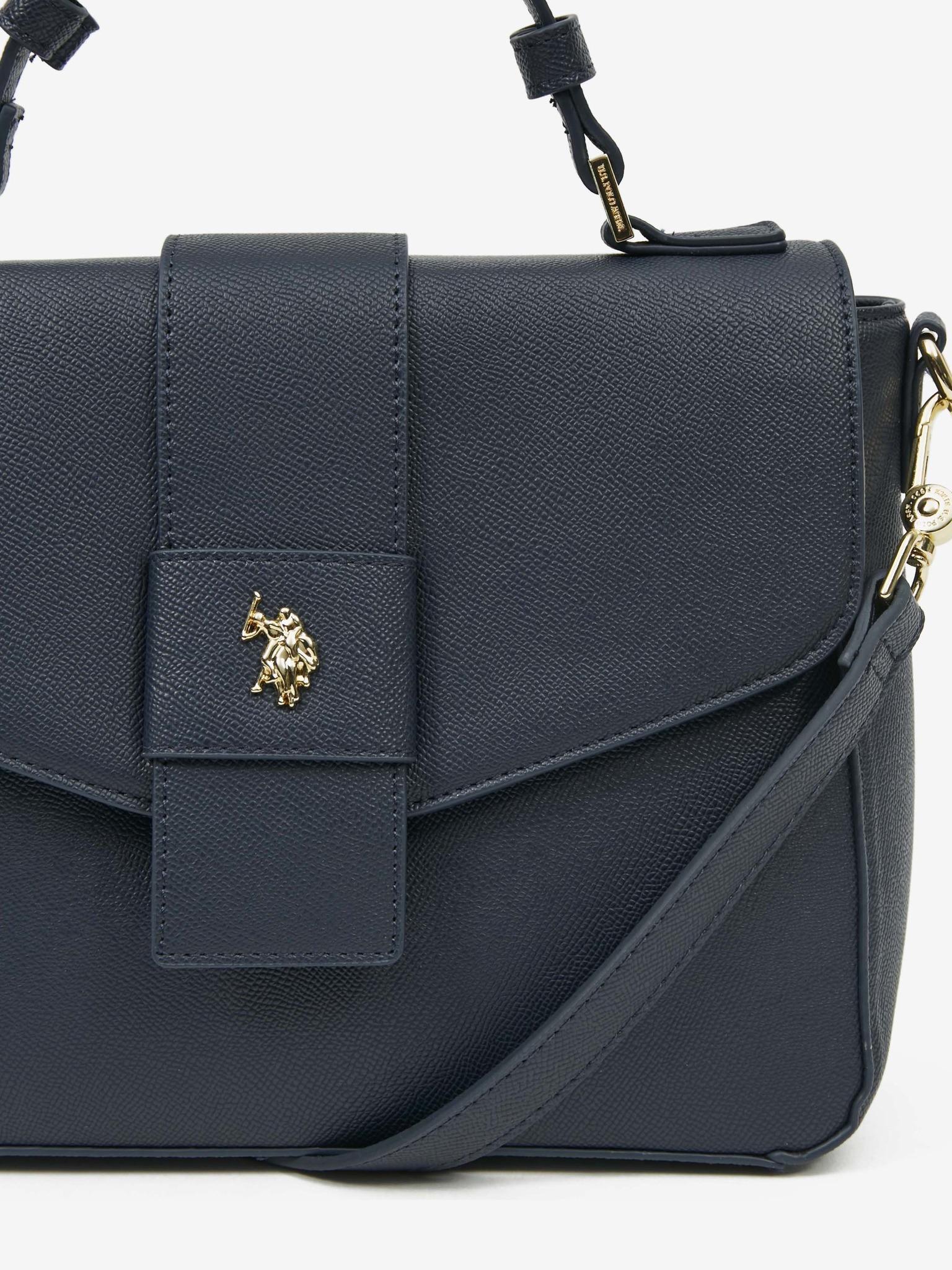 U.S. Polo Assn. Borsetta donna blu  Flap