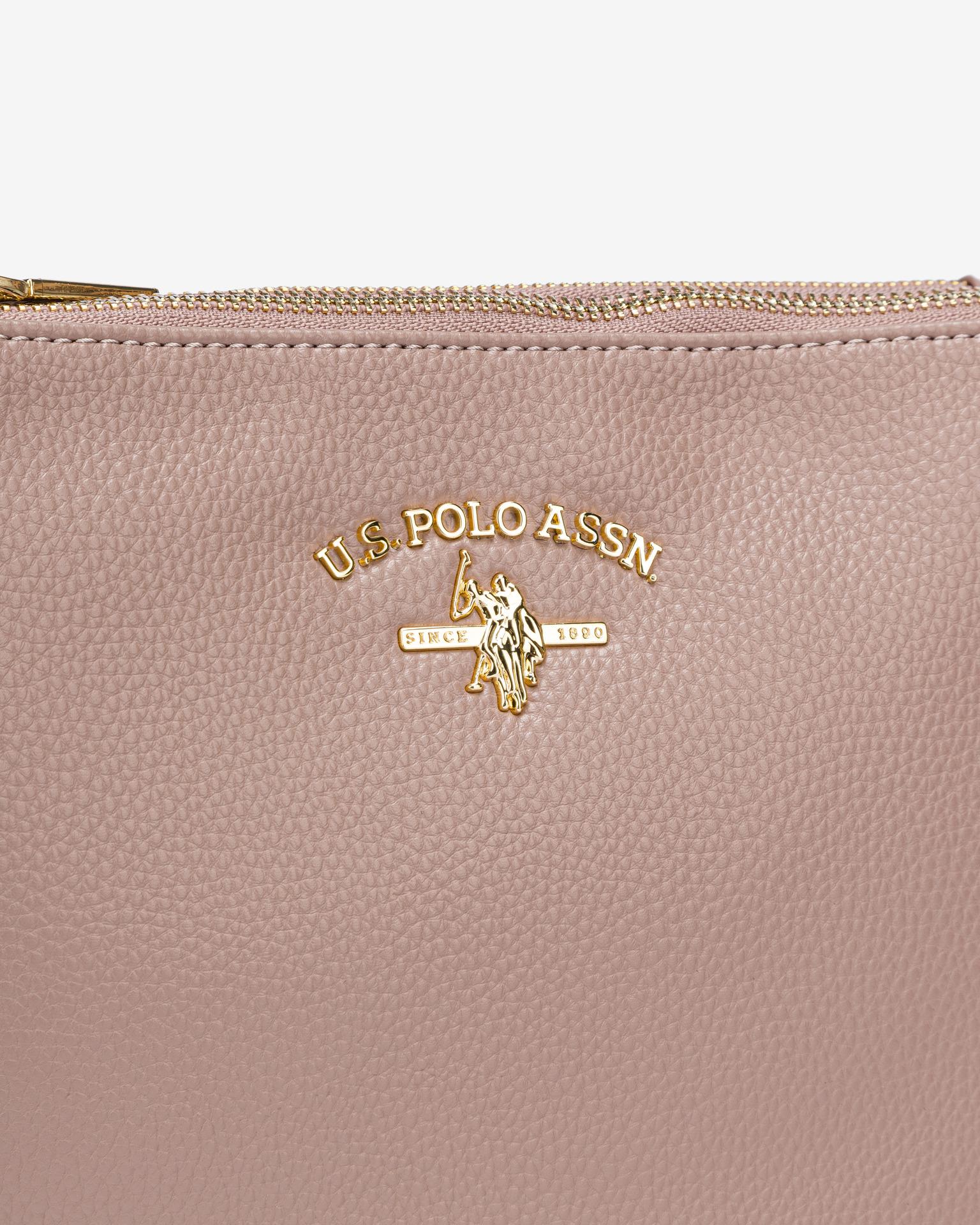 U.S. Polo Assn. Borsetta donna rosa  U.S.