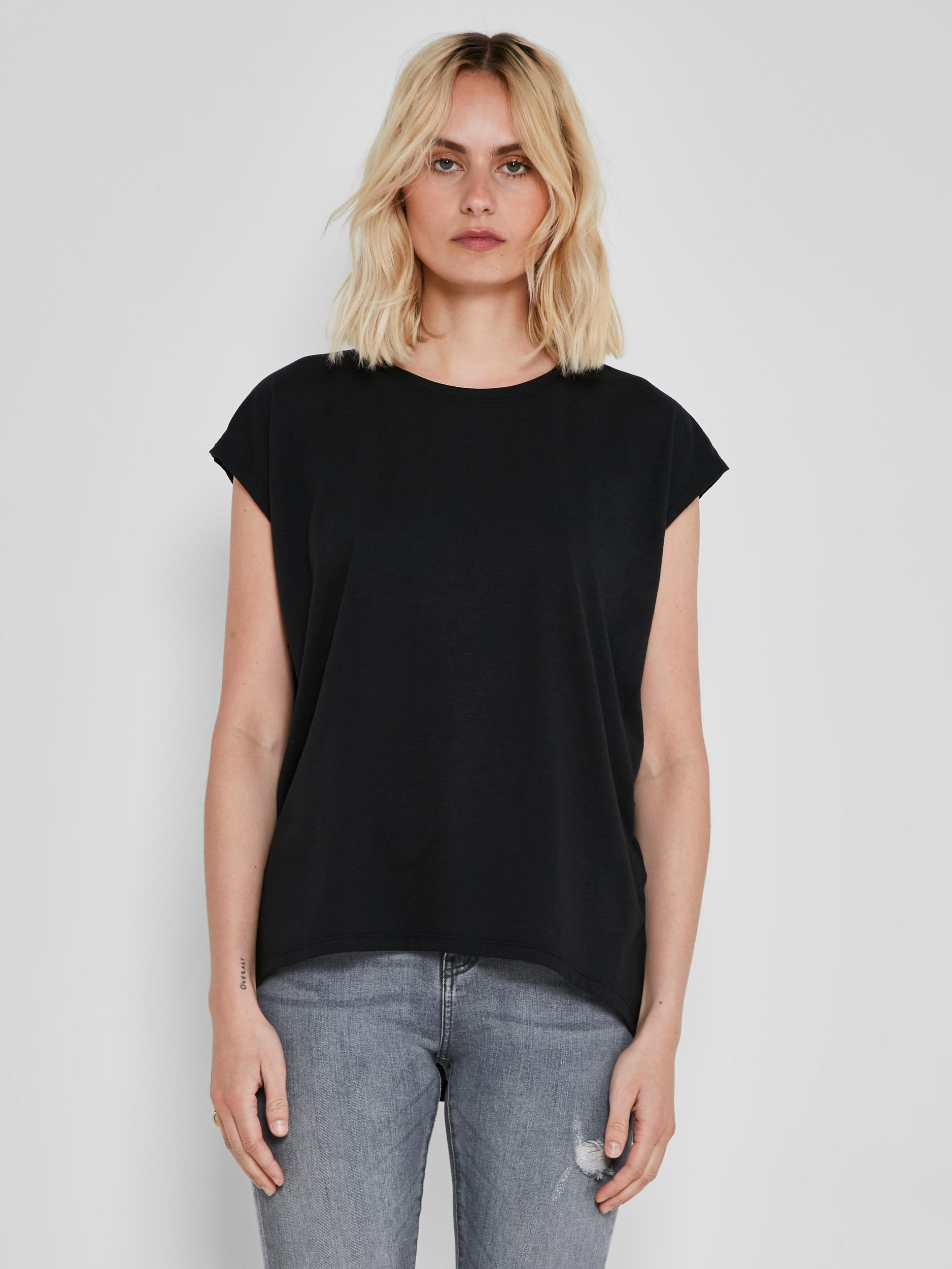 Maglietta basic nera Noisy May Mathilde