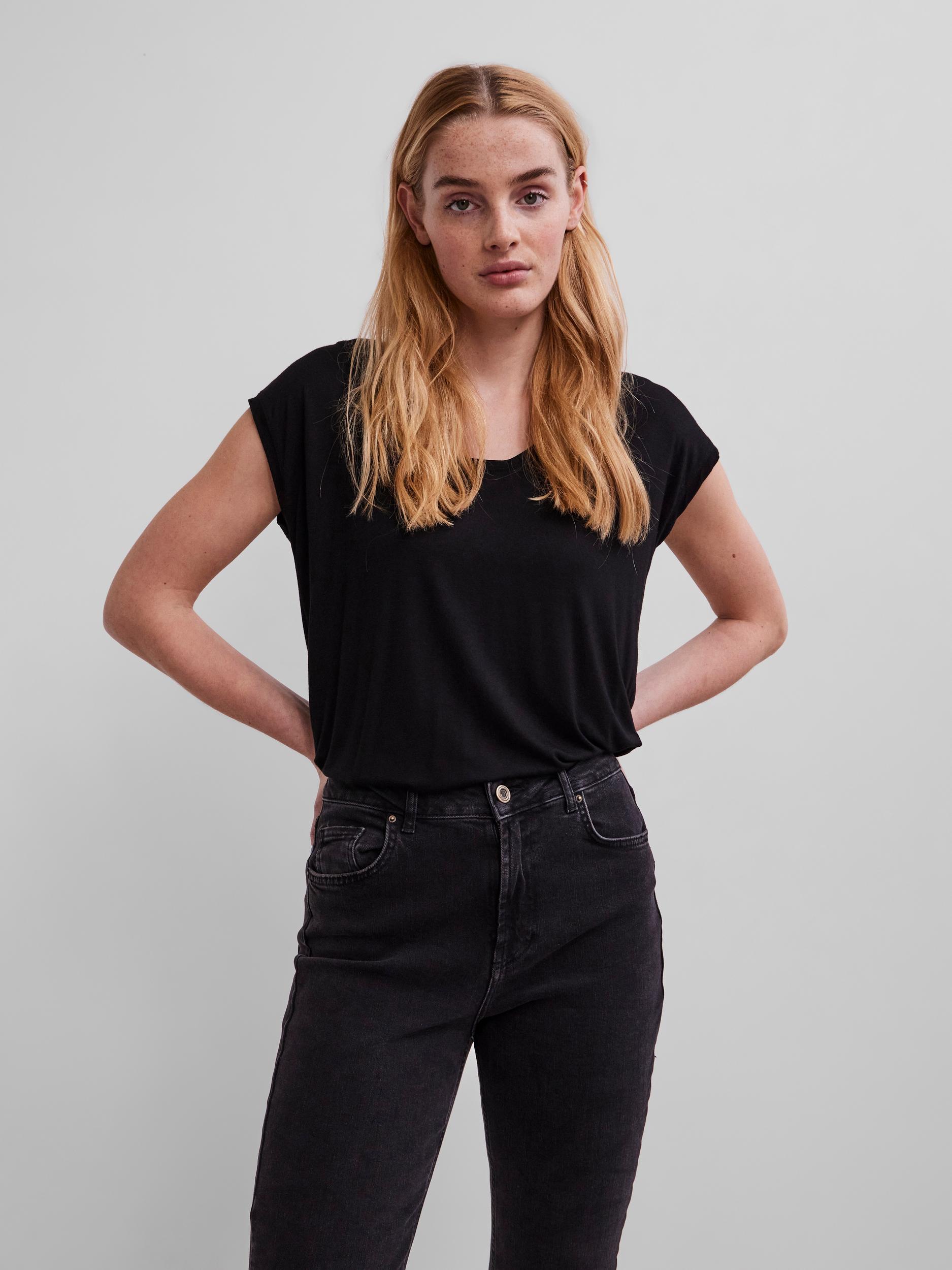 Maglietta basic nera Pezzi Billo