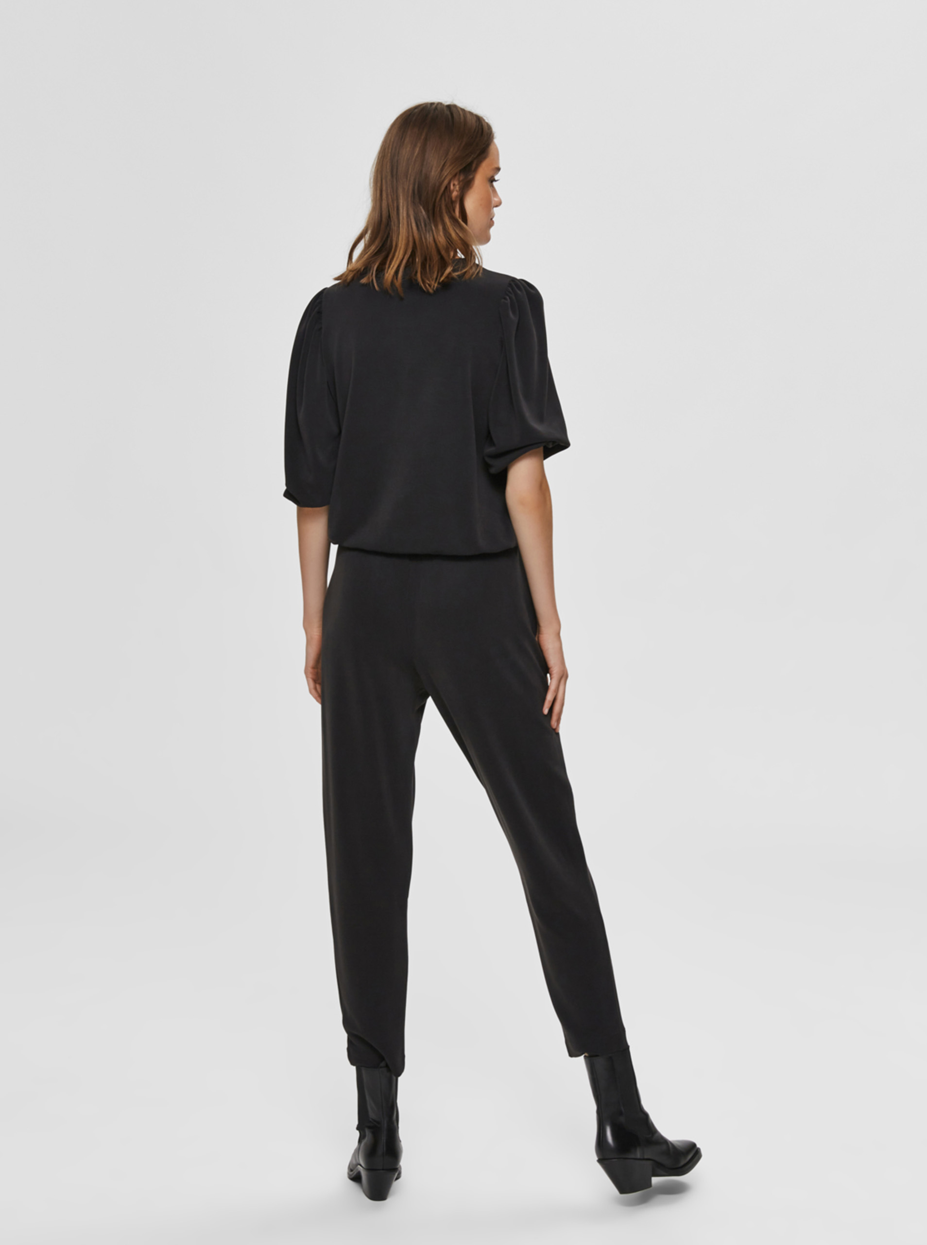 Selected Femme Blusa donna nero Tenny