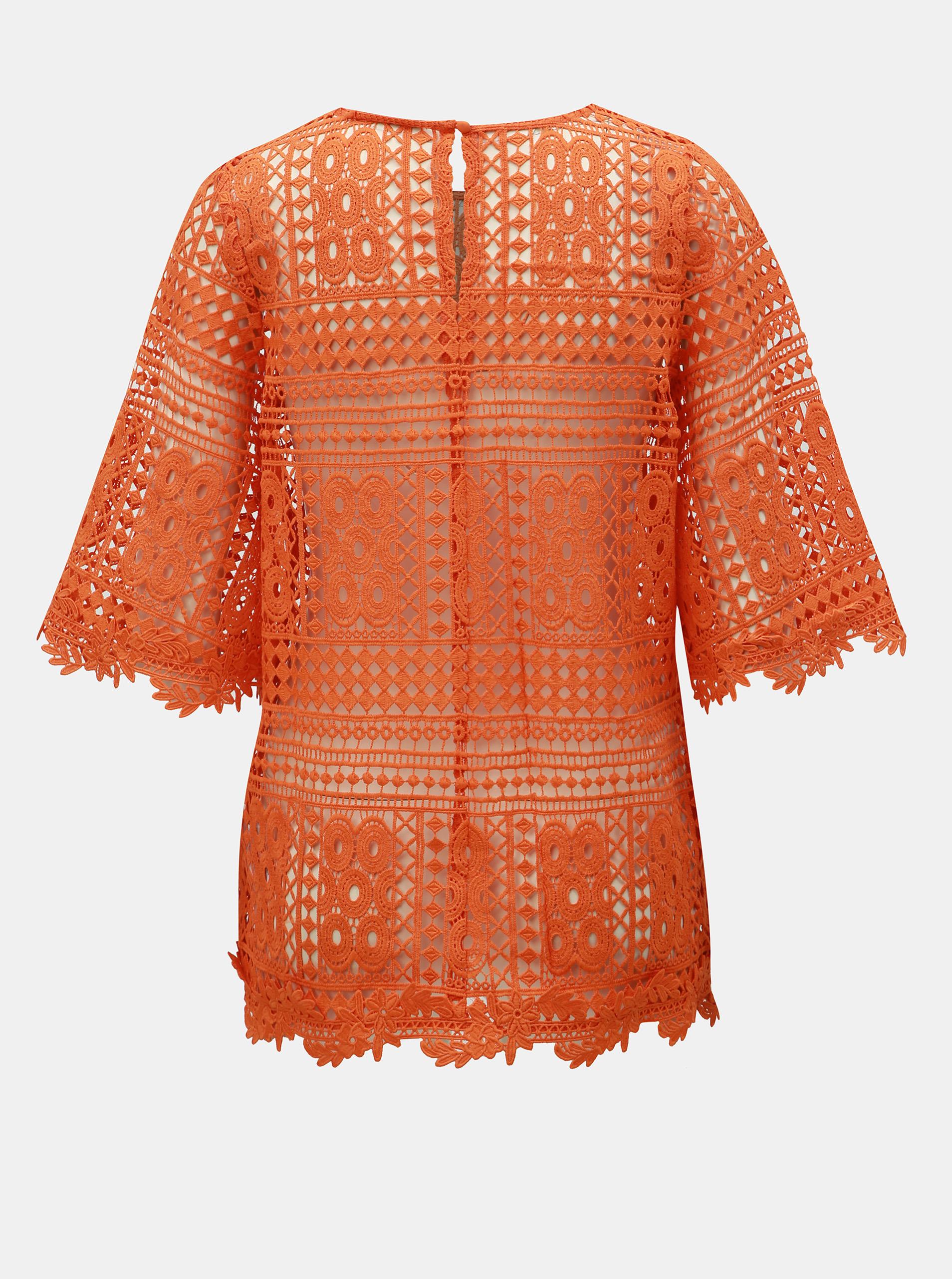 Miss Selfridge Blusa donna arancione