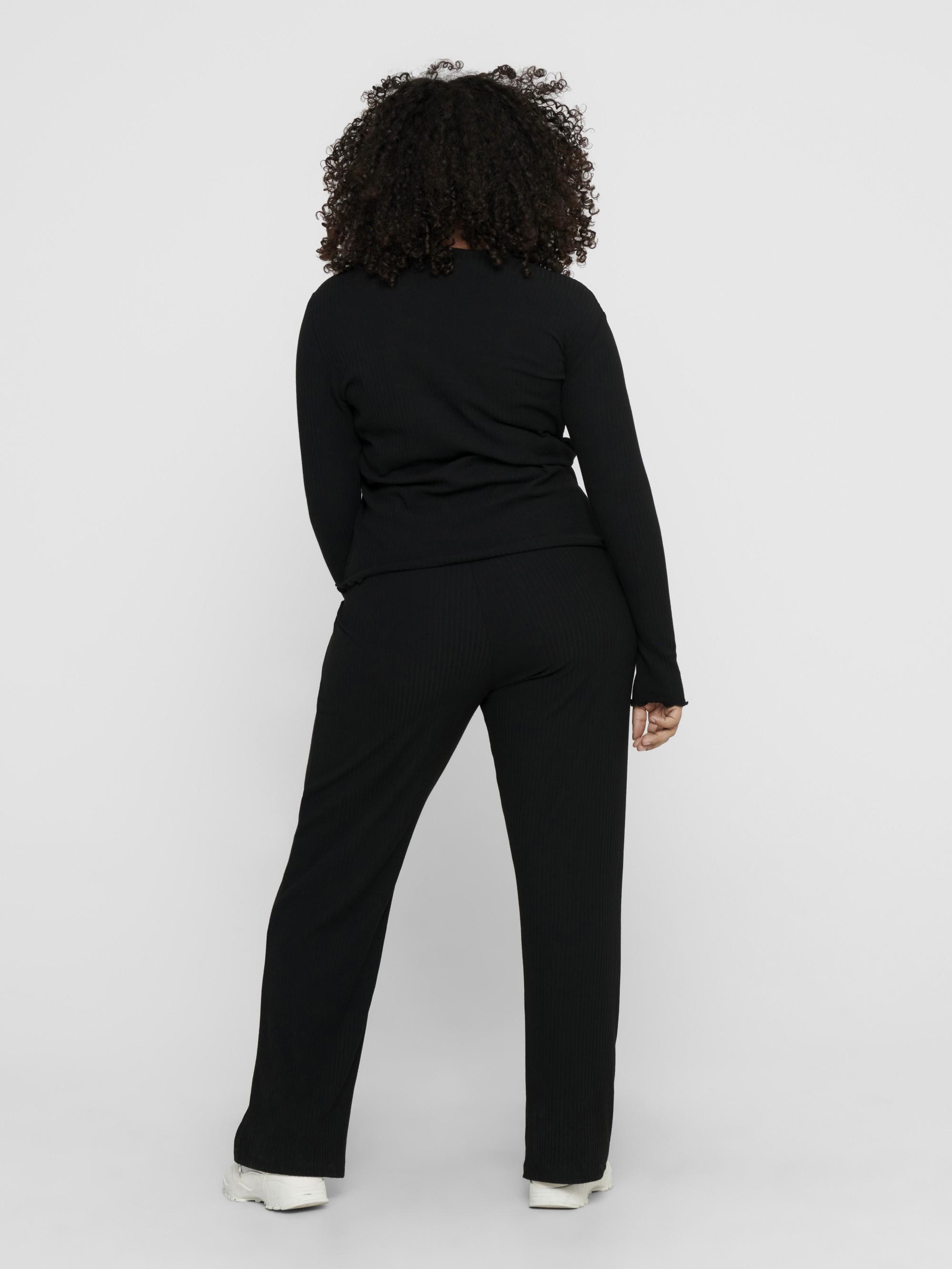 ONLY CARMAKOMA Maglietta donna nero Ally