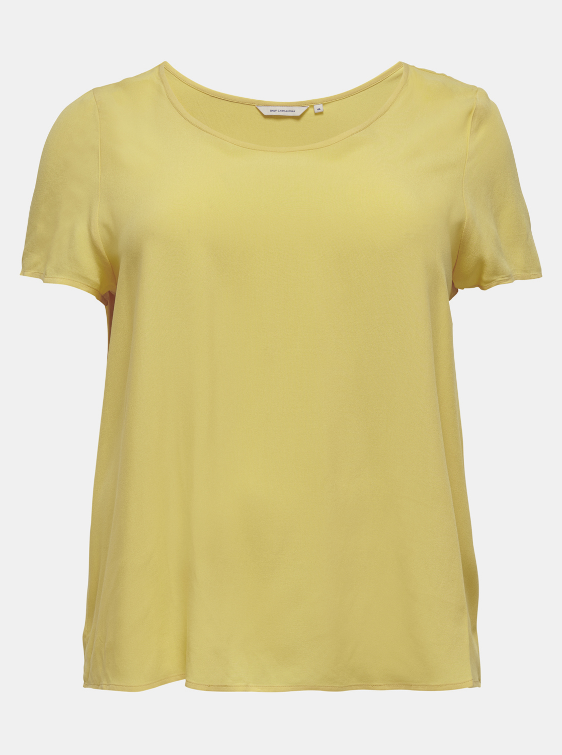 ONLY CARMAKOMA Maglietta donna giallo Firstly