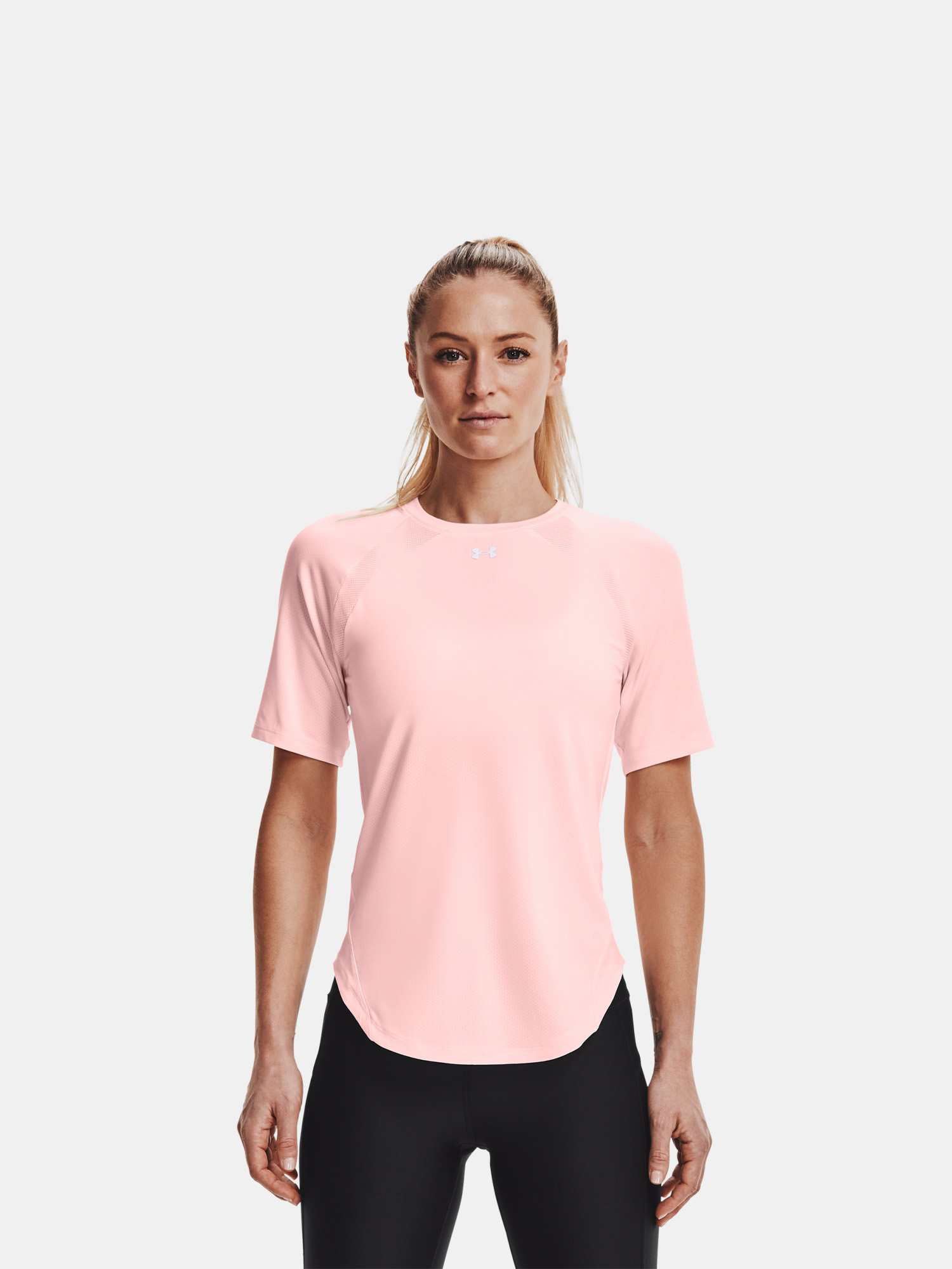 Maglietta polo Under Armour Coolswitch SS-PNK