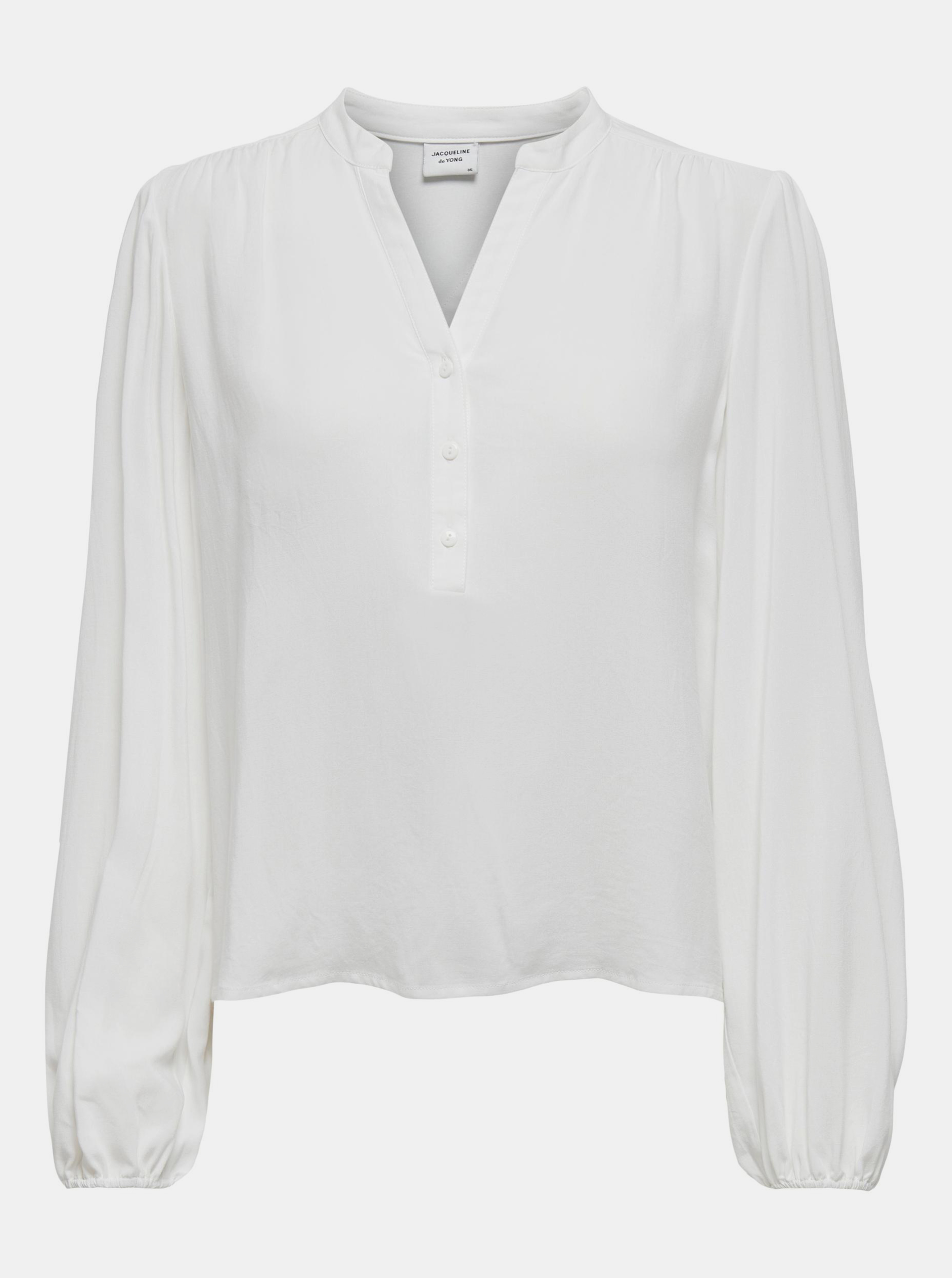 Jacqueline de Yong bianco camicetta Marlon