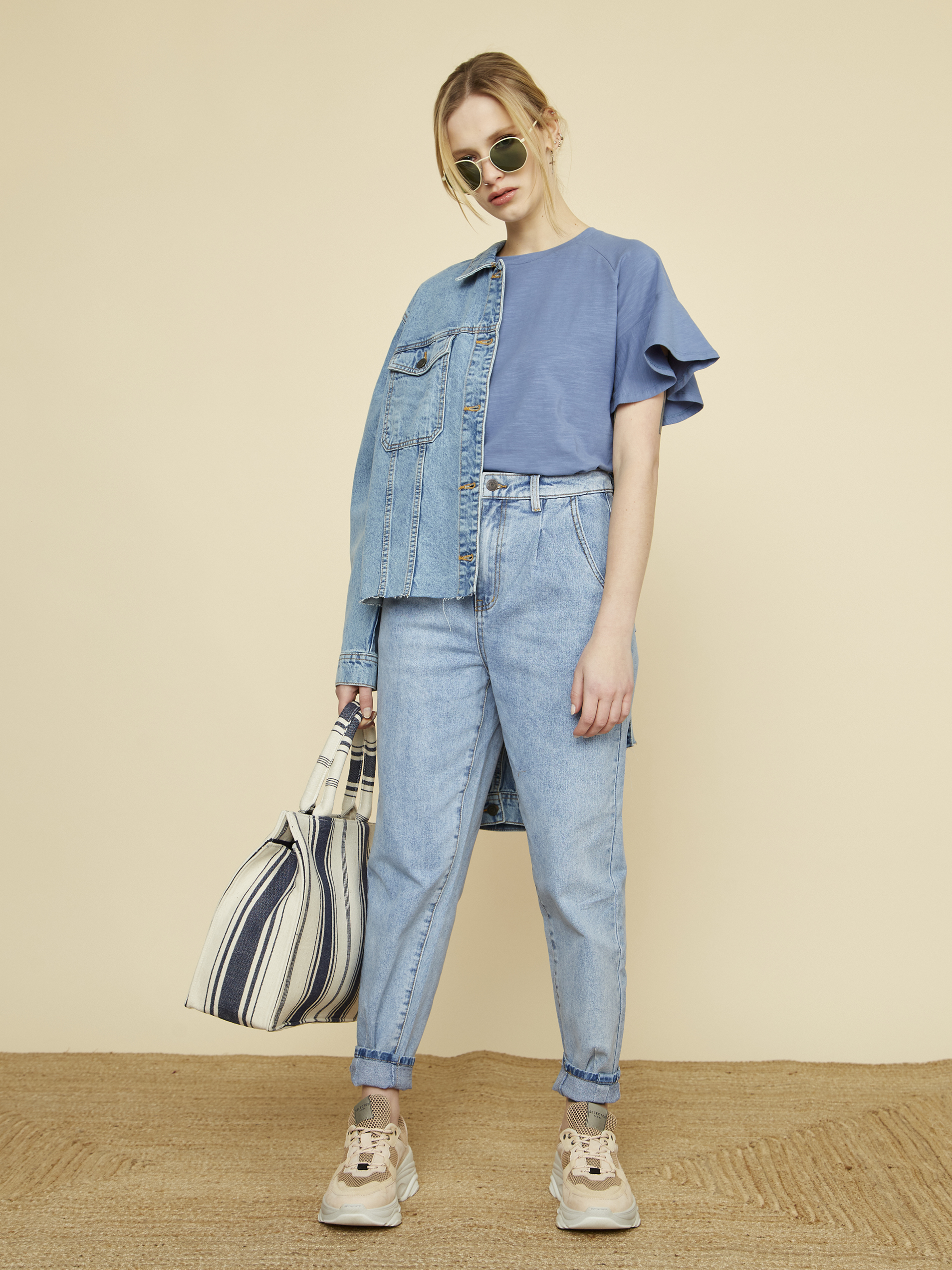 ZOOT blu da donna maglietta Aurelia