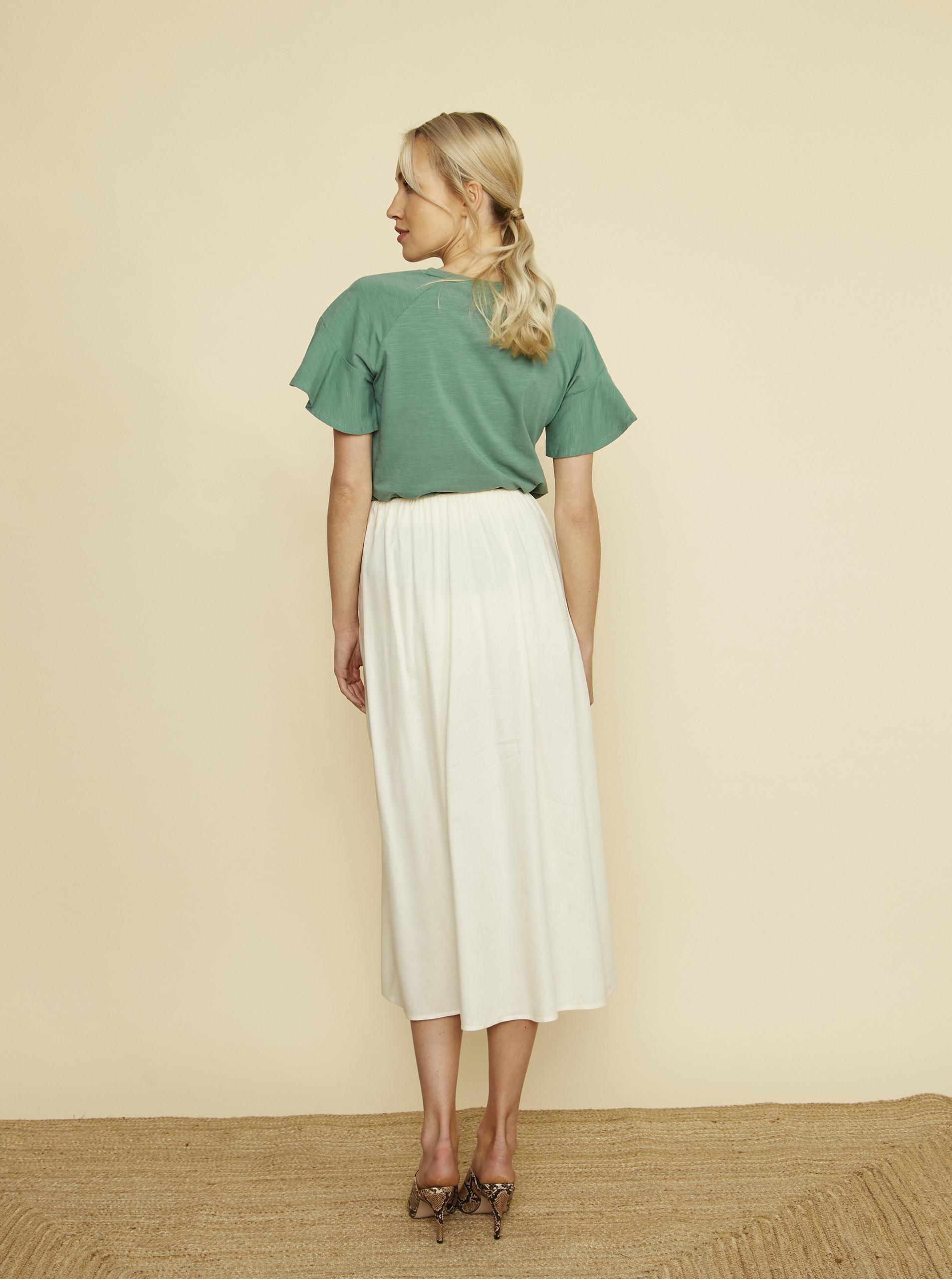 ZOOT verde da donna maglietta Aurelia