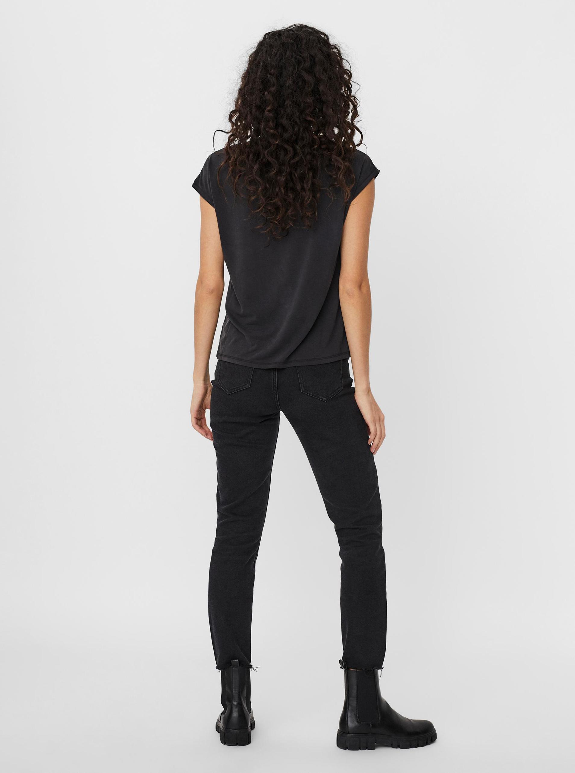 VERO MODA Maglietta donna nero Filli