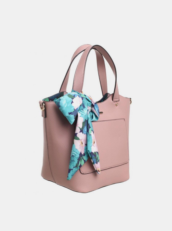Bessie London borsa rosa 3in1