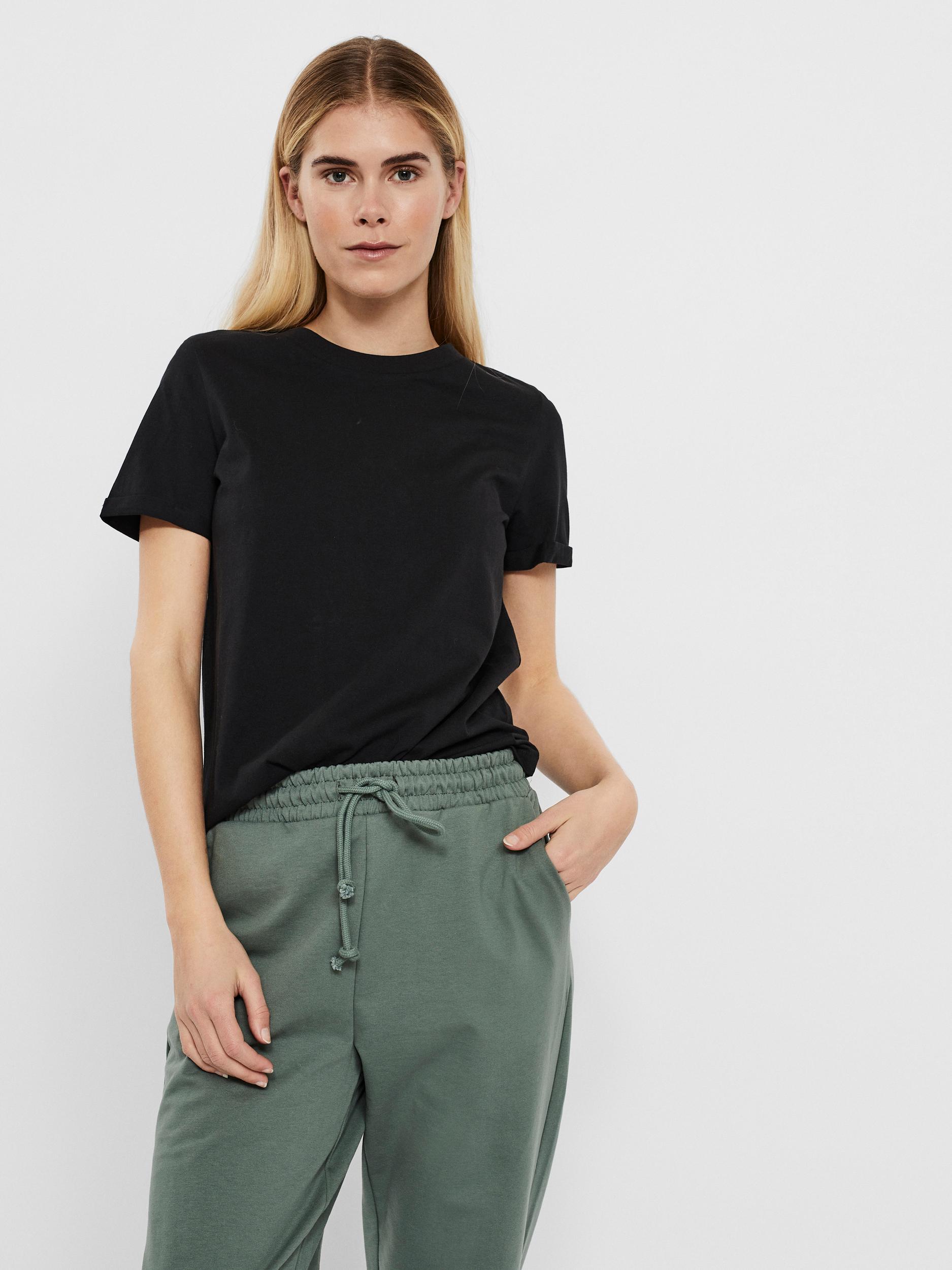 VERO MODA Maglietta donna nero Paula